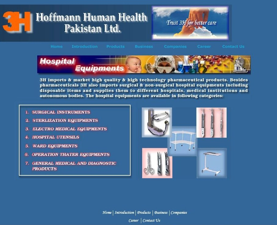 Hoffmann Human Health Website